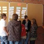 Schüler Tafel Gespräch